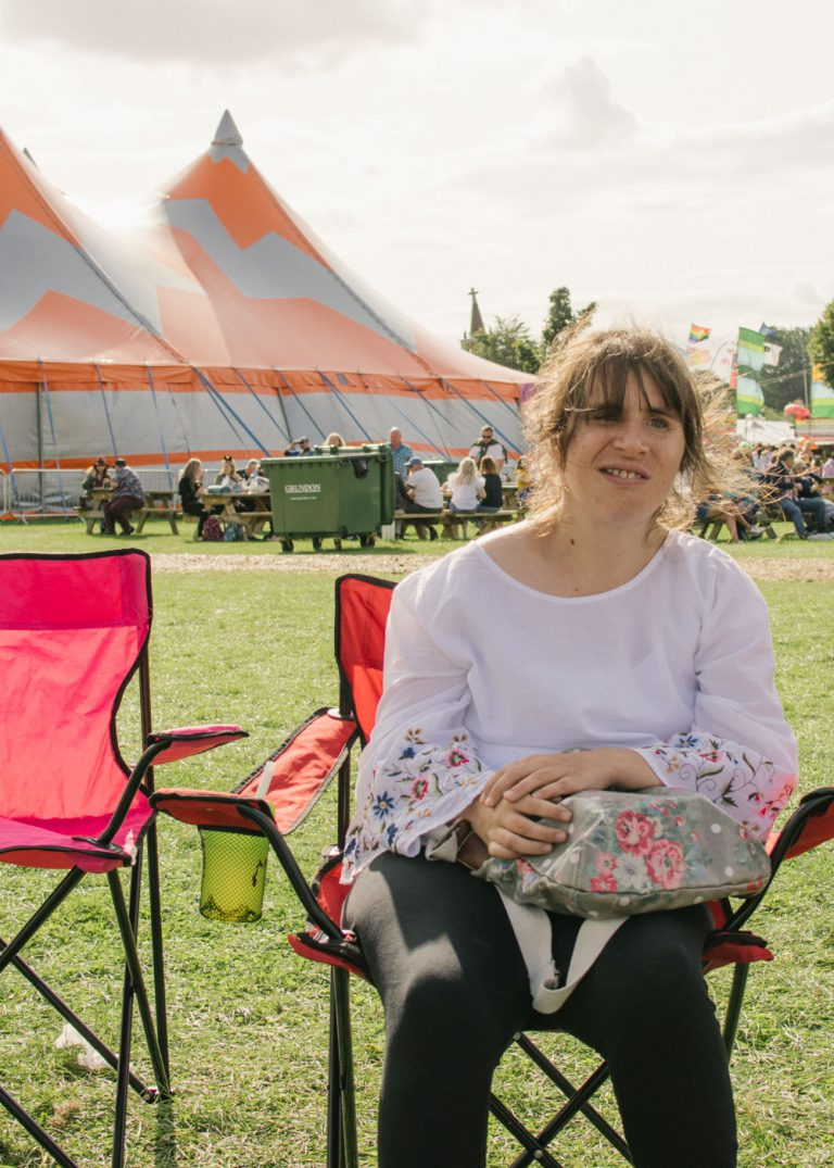 a day trip to the rewind festival in Henley on Thames Oxfordshire