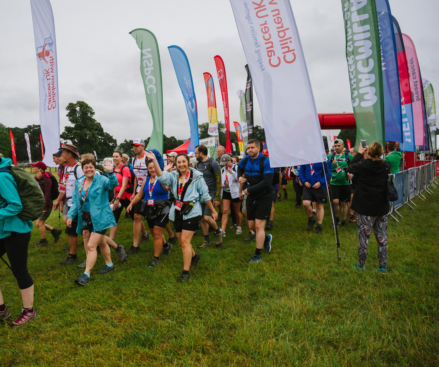 Seeing off on the 100km Chiltern Challenge 2019